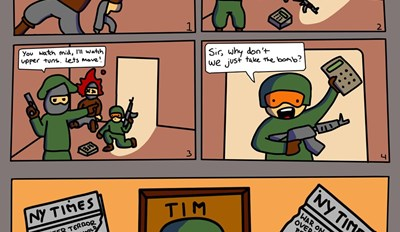 Counter Strike Logic Be Like
