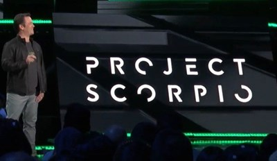 "Xbox Project Scorpio Is ""Coming Together"""