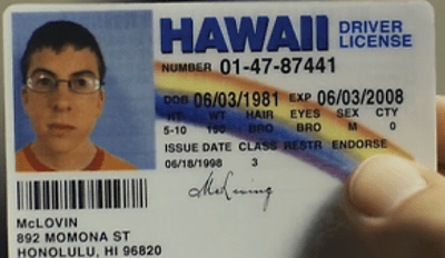 Name Change of the Day: New Zealand Man Changes Name to McLovin