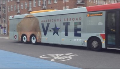 Reminder of the Day: This Bus Has Eyes on the Election