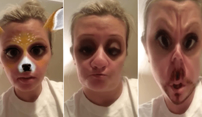 Watch This Mom Perfectly Use Snapchat Filters To Hilariously Nail a Horrible Annoying Customer Experience