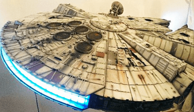 Fan of the Day: Stars Wars Fan Spends 10 Years on Perfect Replica of Millennium Falcon