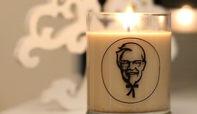 Smell of the Day: Fried Chicken Because KFC is Making Scented Candles