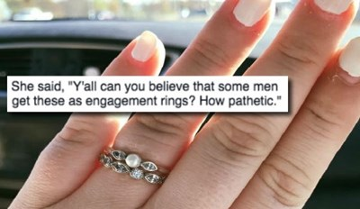 One Woman's Response to a Saleswoman's Accidental Insult of Her Engagement Ring is Something We Should All Take to Heart
