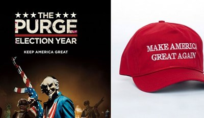 Trump's 2020-Election Slogan Borrows From aThe Purge
