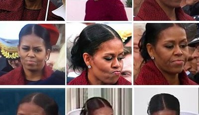 Michelle Obama describes my mood perfectly.