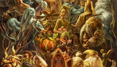 20 Years of Zelda in honor of the new title, Breath of the Wild.