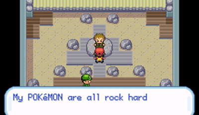 Whoa Brock. I'm just here for the badge.