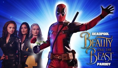 Deadpool Meets Beauty and the Beast in This Gaston Parody