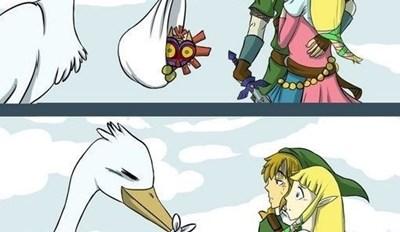 Por eso Link no tiene hijos con Zelda