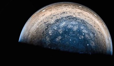 Awesome pics of Jupiter taken by Juno spacecraft.