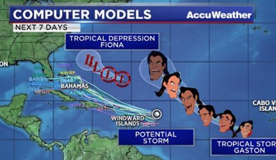 Tropical Storm Gaston Is Bringing a Whirlwind of Memes to the Internet