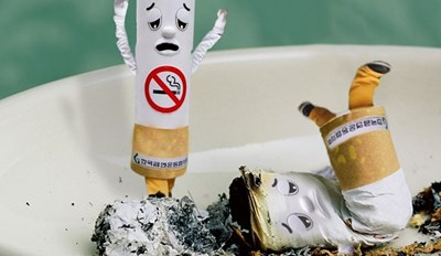 This Photoshop Battle of Giant, Unhappy Cigarettes Will Definitely Cheer You Up