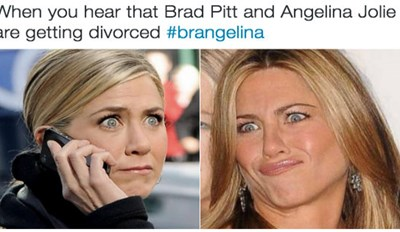 Angelina Jolie Is Divorcing Brad Pitt and the Internet's Acting Like Their Parents Just Separated