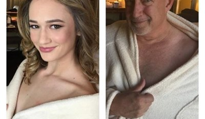 Troll Dad Recreates His Daughters Modeling Photos