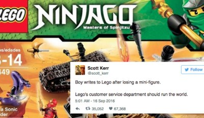 Epic Response From LEGO To Little Boy's Letter Is How Every Company Should Handle Customer Service