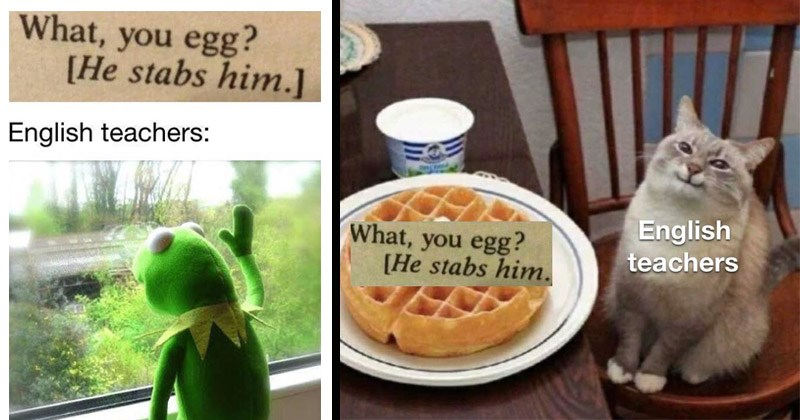 "Funny dank memes entitled, ""What, you egg?"" 