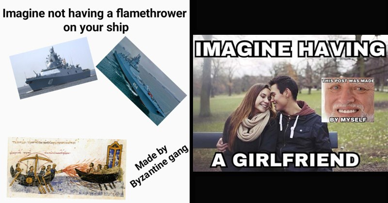 "Funny dank memes entitled, ""This Post Was Made By X Gang"" 