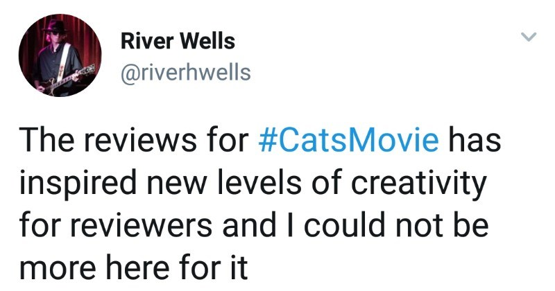 "Movie review for ""Cats"" is ridiculous 