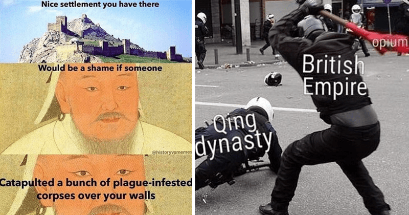 funny and dank history memes