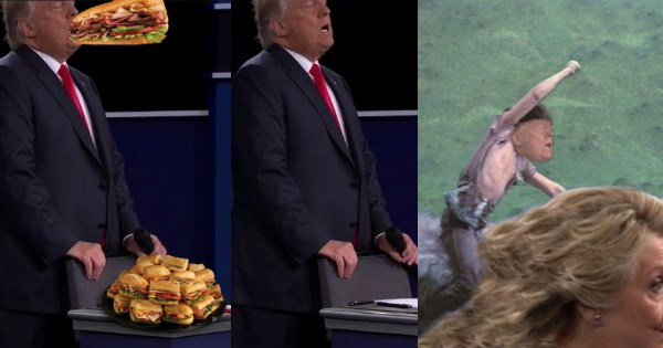 list donald trump debate photoshop battle presidential election - 1015045