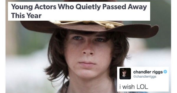 twitter,carl grimes,The Walking Dead