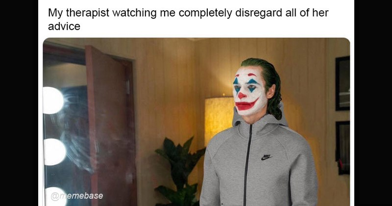 "Funny dank memes featuring ""Tracksuit Joker"" 