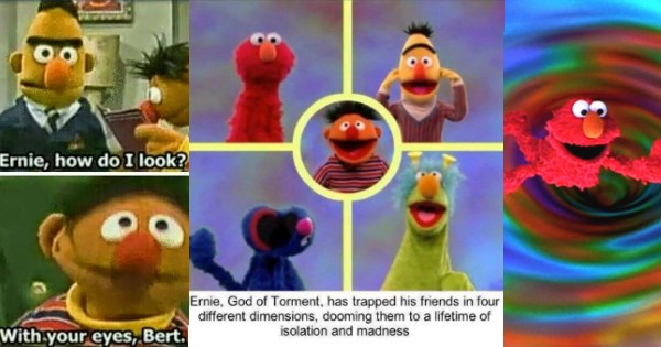 Memes with muppets and sesame street characters