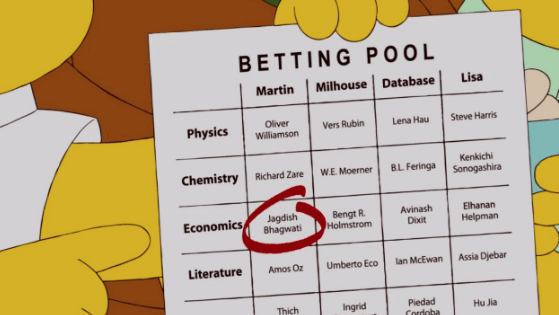 predictions list nobel prize future the simpsons - 1030405