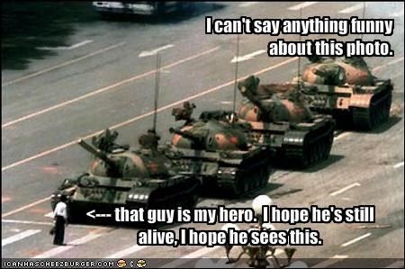 China Protest tank Tank Man - 1031560960
