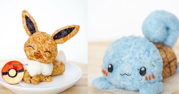 pokemon inspired food