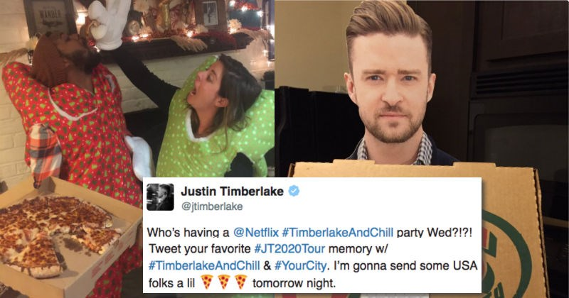 promotion list pizza concert netflix Justin Timberlake - 1033221