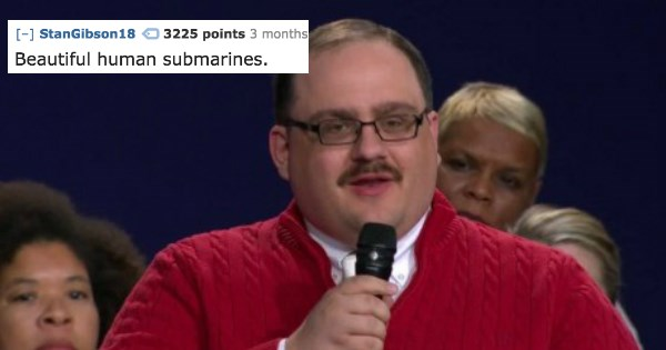 wtf list AMA internet ken bone celeb - 1035781