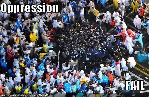 police Protest riot - 1037089536