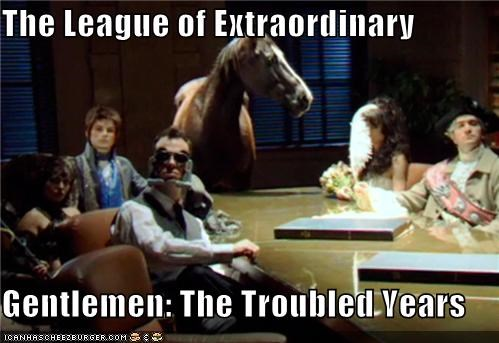 The League Of Extraordinary Gentlemen The Troubled Years