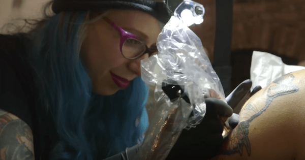 Meet Betty Rose, a Real Life Cattoo Artist