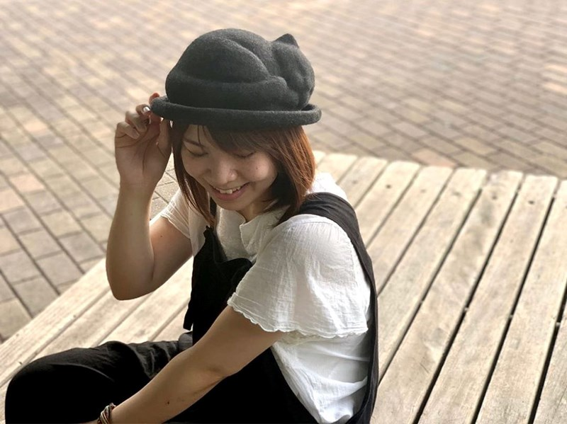 "New 'Napping Cat"" Hat From Japan 