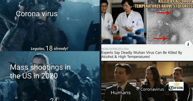 dank memes about the wuhan coronavirus | lord of the rings Corona virus Legolas, 18 already! Mass shootings US 2020 on 24. assassination chain: KILLED BY ALCOHOLE TEMPERATURES ABOVE 57 DEGREES! WORLDOFBUZZ.COM Experts Say Deadly Wuhan Virus Can Be Killed By Alcohol High Temperatures! Coronavirus Corona Humans