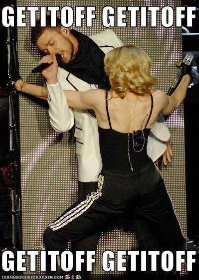 boy toys ewjust-ew Justin Timberlake Madonna old people rocking out - 1042895616
