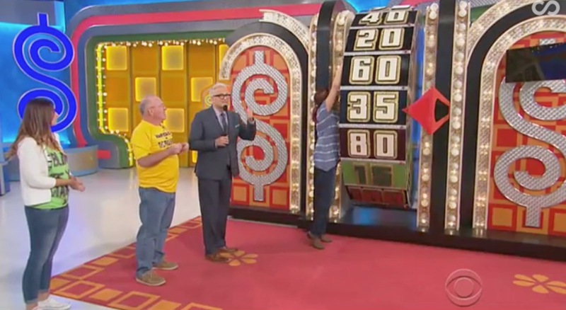 game shows twitter the price is right winner reaction Video win - 1043205