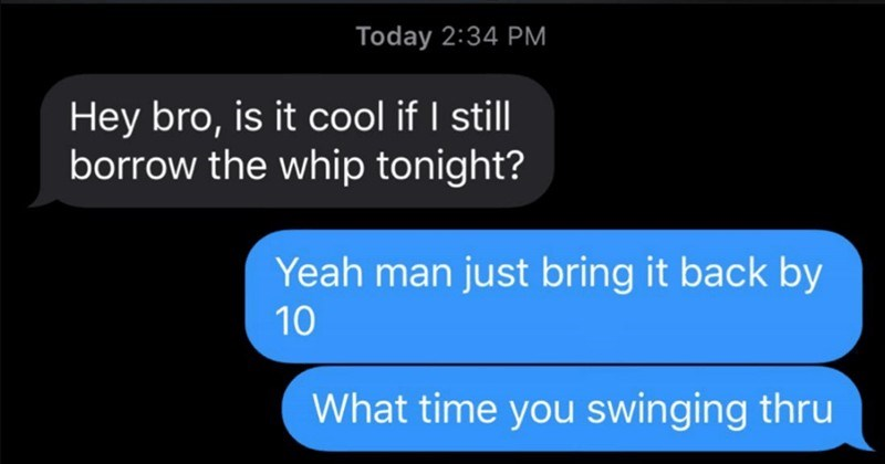 Guy's buddy wants his car for a date, and they end up arguing about it | Hey bro, is cool if still borrow whip tonight? Yeah man just bring back by 10 time swinging thru