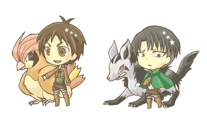 Pokémon art anime attack on titan list - 104453