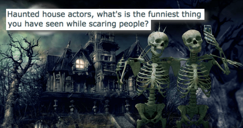Reading Stories of Working at a Haunted House Just Proves That Scaring People For Money is One of the Best Jobs Ever
