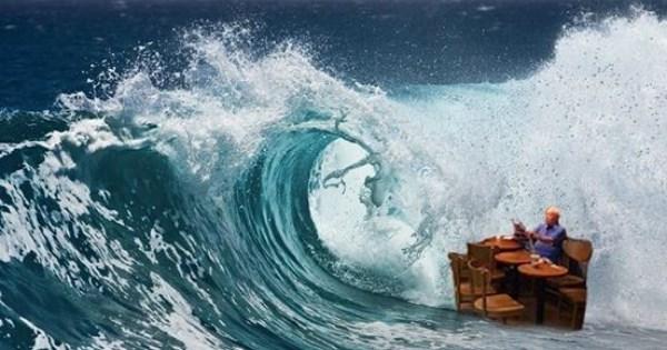hong kong photoshop battle coffee flood - 1056005