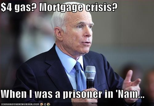 Economics john mccain Republicans