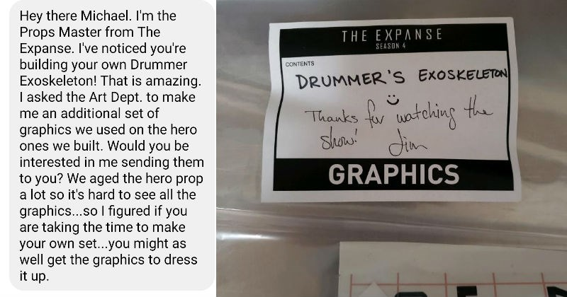 """The Expanse"" prop master sends a fan a ton of cool stuff 