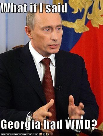 Georgia russia Vladimir Putin - 1059138816