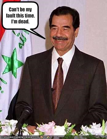 iraq,Saddam Hussein