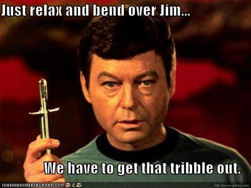 DeForest Kelley dr-mccoy sci fi Star Trek tribbles TV tv doctors - 1062245120