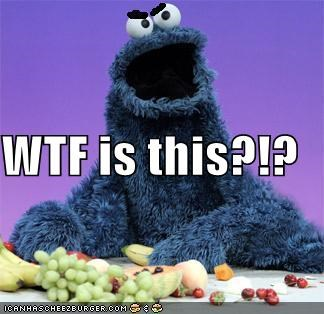 Cookie Monster Sesame Street - 1066284800